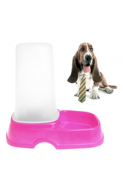 (Ready Stock) Automatic Water Food Dispenser Water Feeder Dish Bowl for Pets Dog Cat Puppy