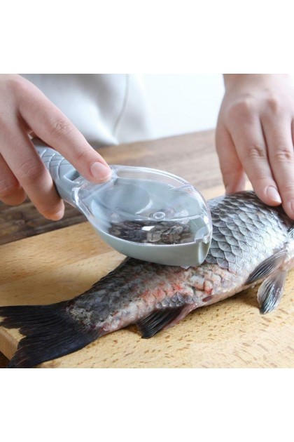 (Ready Stock) Fish Skin Brush Scraping Fishing Scale Brush Graters Fast Remove Fish knife